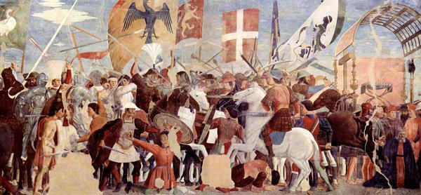 La batalla del emperador Heraclio contra el rey de Persia, Cosroas II