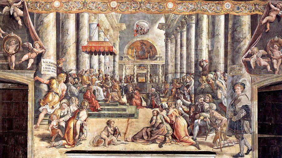 Donación de Roma (Donazione di Roma)